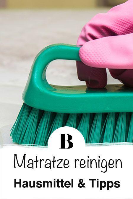 Matratze reinigen: Hausmittel und Tipps. Flecken auf der Matratze ...