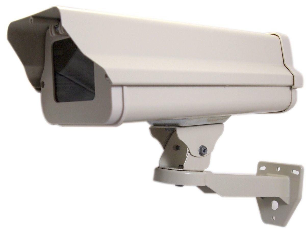 2PK of  CCTV Metal Mini Box Spy Camera Housing with 3.6 mm Lens