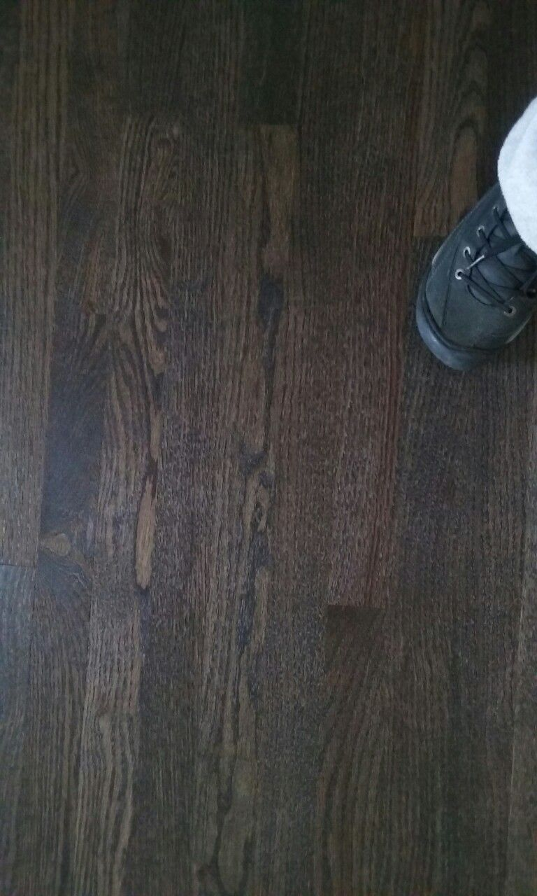 Graphite Bona Stain On Red Oak Oak Wood Stain Red Oak