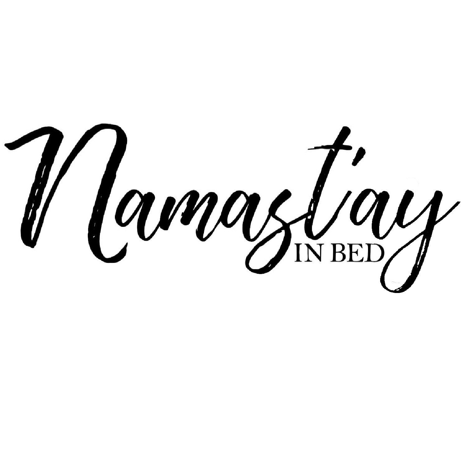 Namast Ay In Bed Sign Namaste In Bed Bedroom Wall Art Namaste Sign Calligraphy Wall Decor Bedroom Signs Digit Namaste Sign Namastay In Bed Bedroom Signs