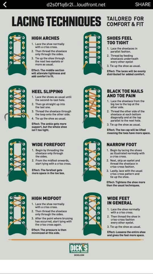 Pin By Nicole Anderson On Shoes How To Tie Shoes Shoe Lace Patterns Shoe Lacing Techniques