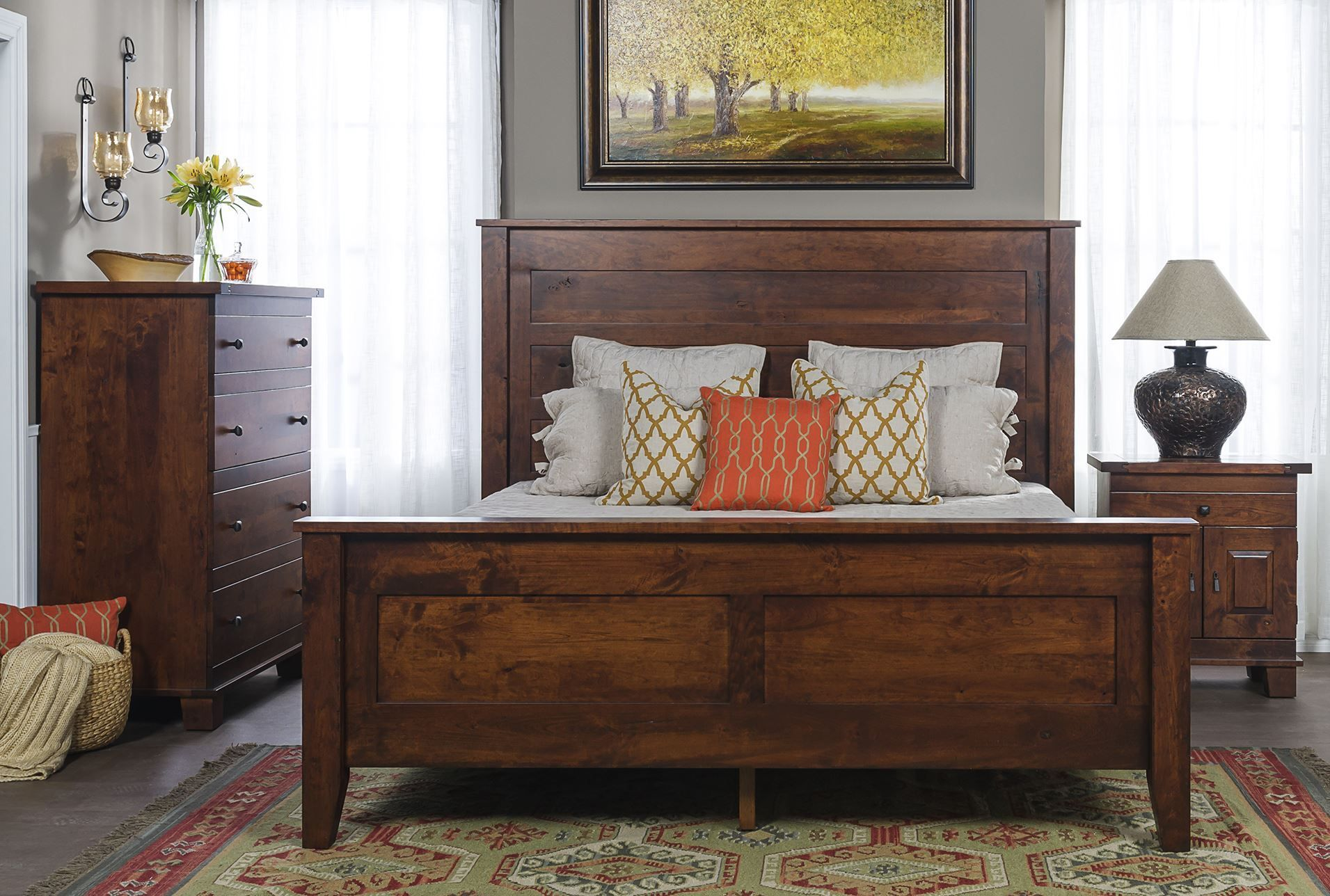 Master bedroom king size bed designs  Eaton California King Panel Bed living spaces  Furniture Likes