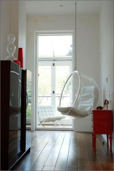 I Love All The Chairs In This Photo · Bubble ChairRound ...