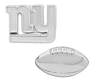 NFL Silvertone Mix & Match Stud Earrings