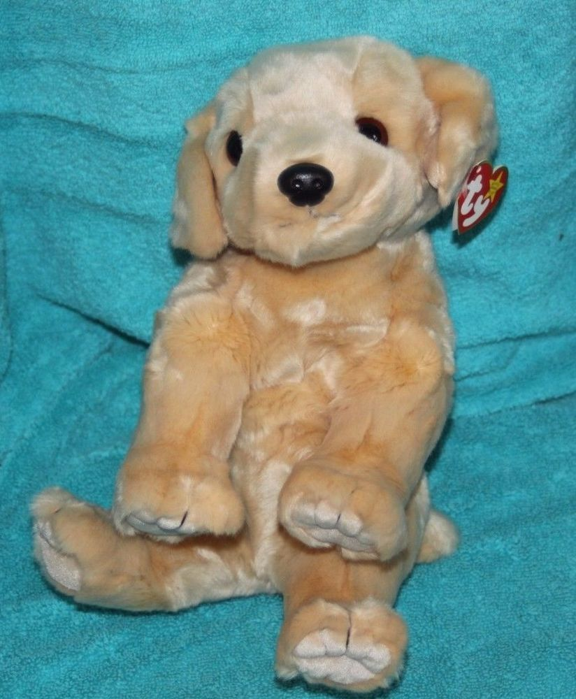 f1c9f5473ae Ty Large Plush Beanie Buddy Fetch Dog Golden Retriever MWMT  TyPlush ...