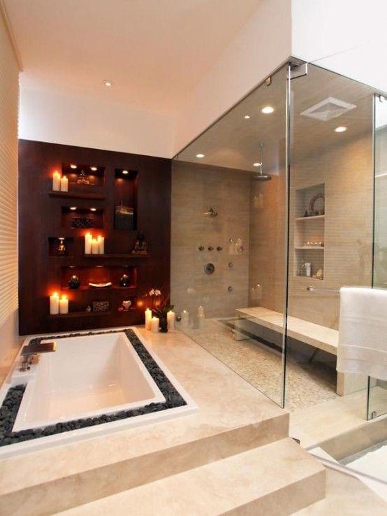 15 Compelling Contemporary Exterior Designs Of Luxury Homes You Ll Love: Stylish Bathroom, Romantic Bathrooms, Dream Bathrooms