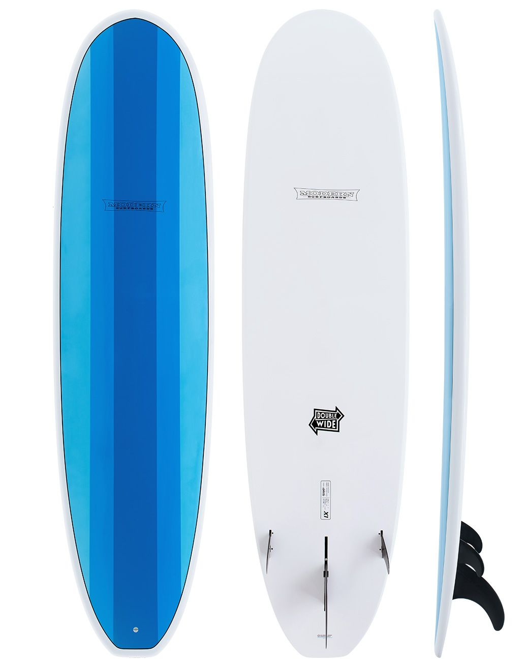 MODERN SURFBOARDS DOUBLE WIDE - X1 CONSTRUCTION
