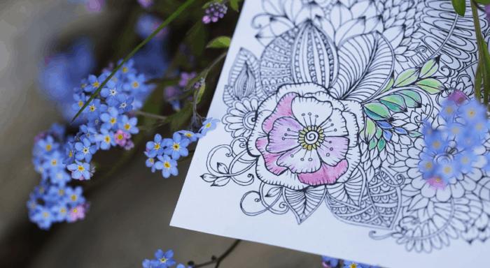 Gambar Bunga Cantik Untuk Digambar 7 Cara Membuat Doodle Art Name Simple 50 Contoh Gambar Doodle 16 Contoh Gambar Sketsa Bunga Yang M Di 2020 Vignette Bunga Gambar