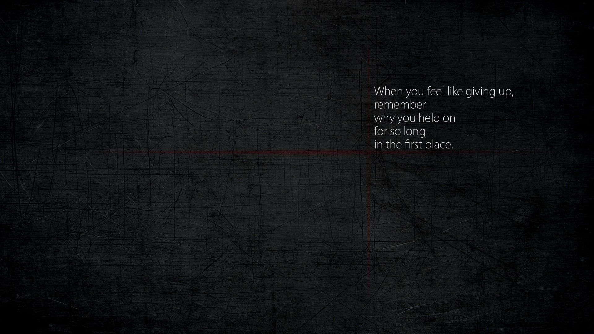 White Text With Black Background When You Feel Like Giving Up Remember Why You Held On For So Giving Up Quotes Feel Like Giving Up Some Inspirational Quotes