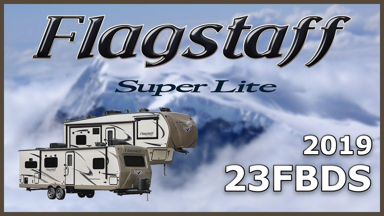 2019 Forest River Flagstaff Super Lite 23fbds Travel Trailer For Sale Tradewinds Rv Center Shop 2019 Flag Travel Trailers For Sale Light Trailer Travel Trailer