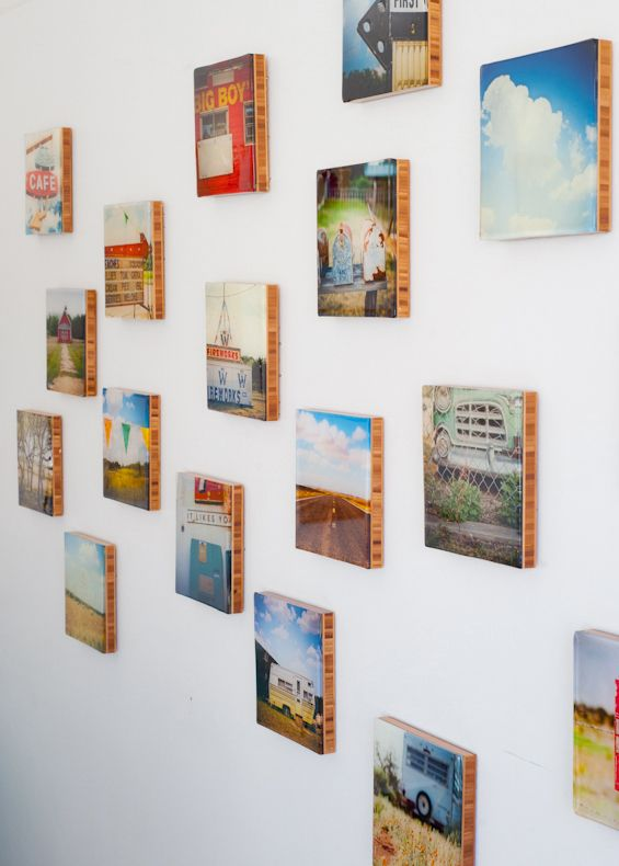 Plywerk eco-conscious photo mounting & art panels. Artwork by Amy Perl @ Oakland Third Thursday