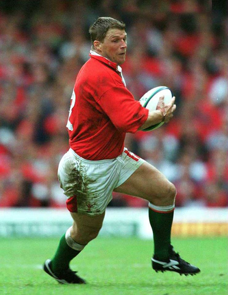 Wales Scott Gibbs Welsh rugby players