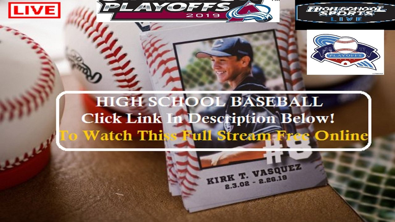 Live Stream Https Bit Ly 2q0mret Thanks For Watching Today S Video Thank You Again I Hope You Enjoy The Videos T High School Baseball Rockford Streaming