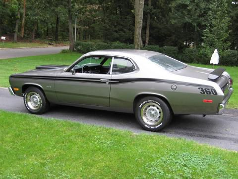 1974 Plymouth Duster 360 An Example Of My First Car Saskatoon Saskatchewan It Had Cragar Mags On Plymouth Muscle Cars Classic Cars Muscle Plymouth Duster