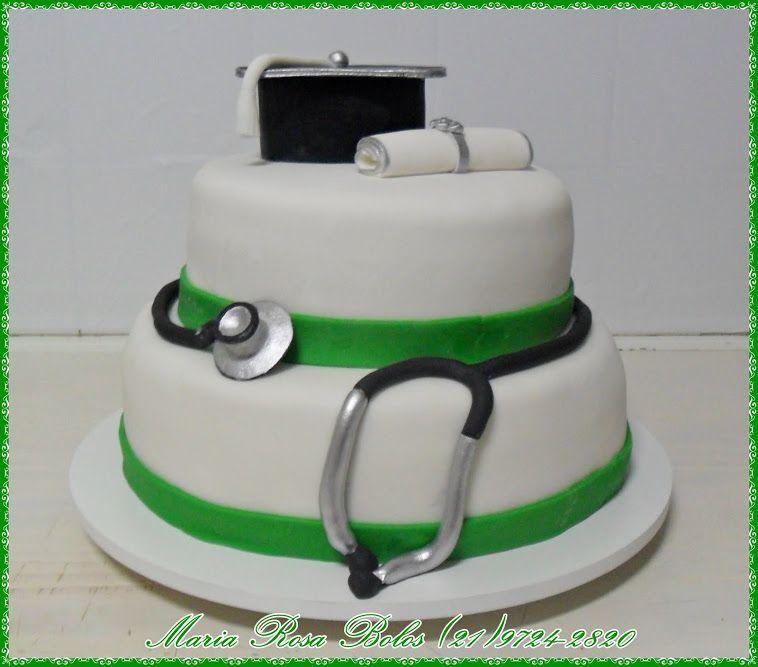 Bolo de formatura de enfermagem Fotmaturas Pinterest Formatura de enfermagem, Enfermagem e  -> Decoração Festa Enfermeiro