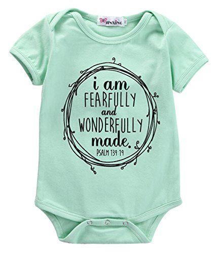 296b63c660536 Newborn Baby Boy Girls Infant Casual Romper Jumpsuit Bodysuit Clothes  Outfits (6-12M,