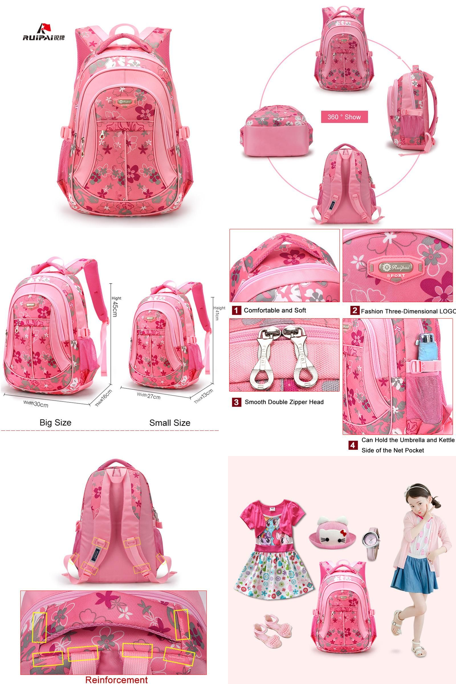 37a4a4e26a  Visit to Buy  RUIPAI School Bags Backpack Schoolbag Fashion Kids Lovely  Backpacks For Children