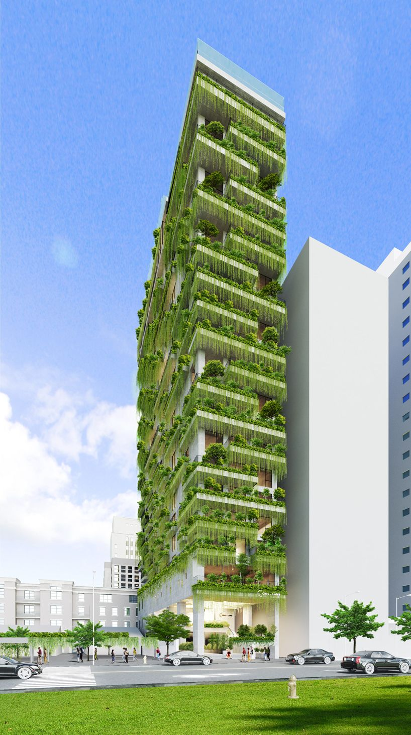 Avis Maison Habitat Concept vo trong nghia plans tropical tower of hanging gardens for