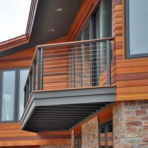 Hansen Architectural Systems cable railing systems are
