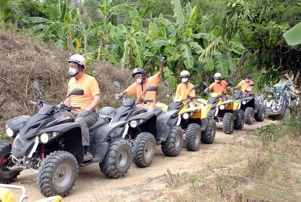 Pattaya Atv Quad Bike Atv And Buggy Off Road Tours Ride Through
