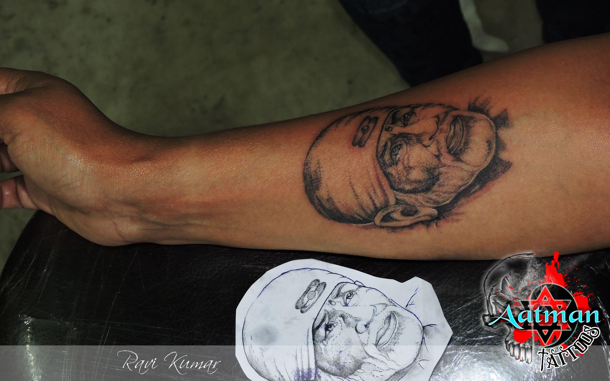 sai baba tattoo by Aatman tattoos Tattoos