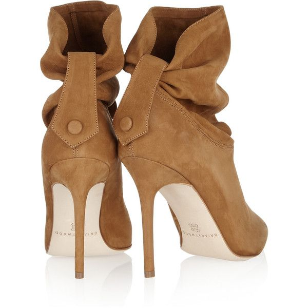 Brian Atwood Suede Ankle Boots visa payment for sale free shipping huge surprise R9FDrAN2Rx