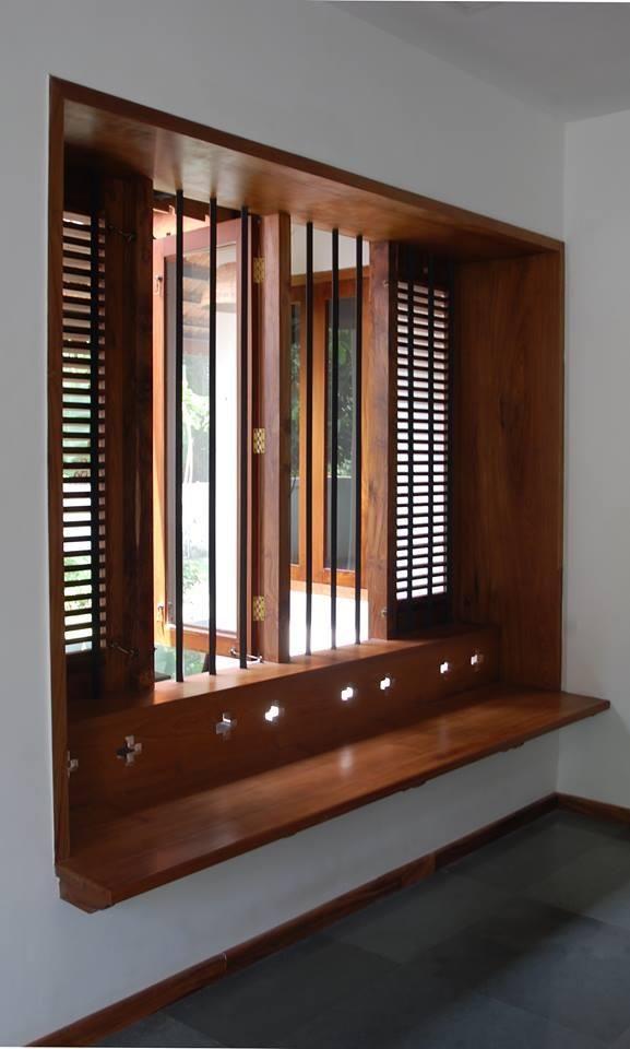 Wooden Built-in Seat   home style   Pinterest   House ...