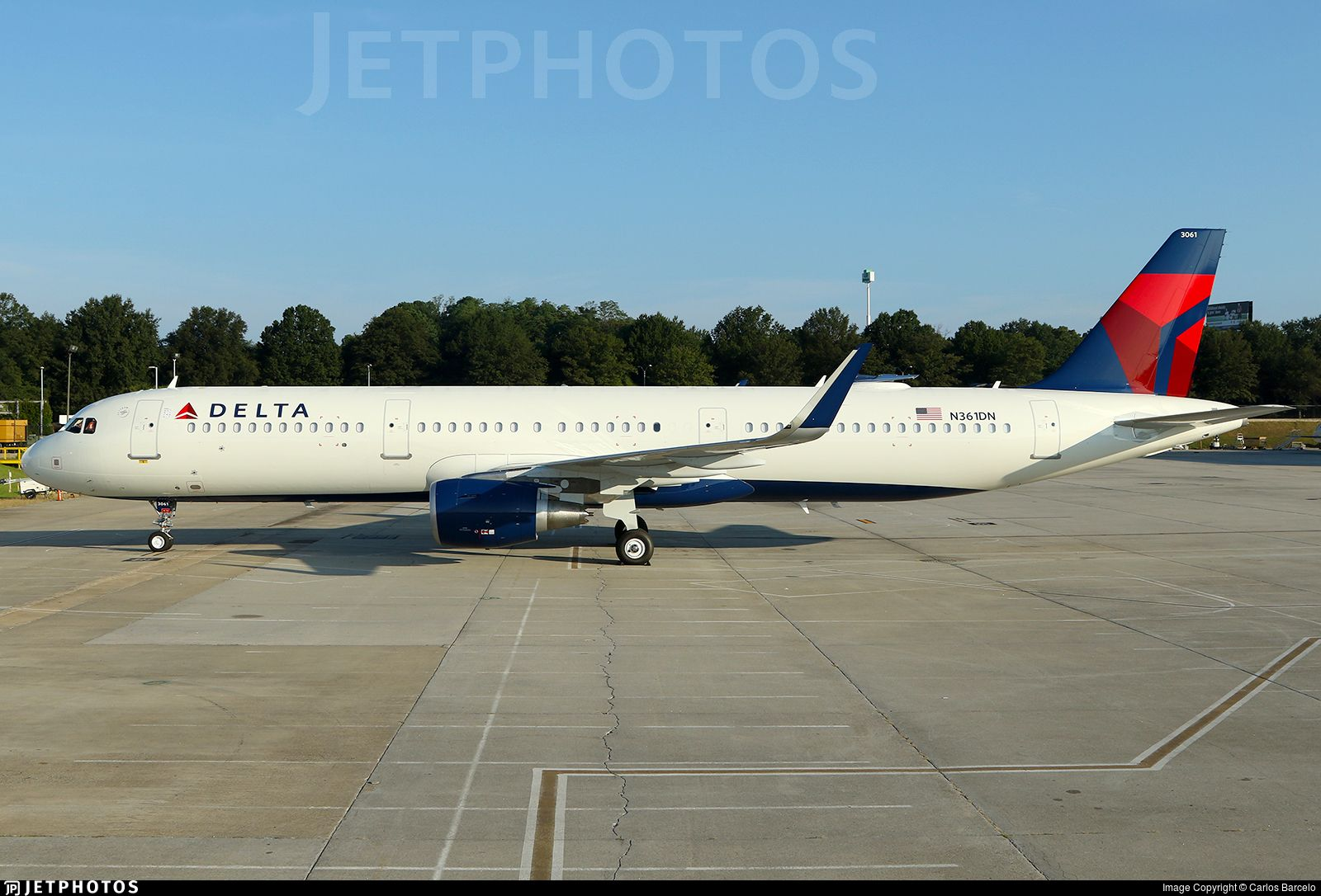 Delta Airlines Airbus A321211 Delta airlines