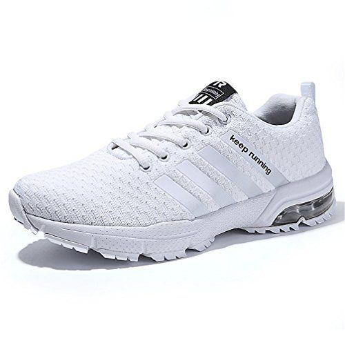 7b1d06e51994 Sollomensi Chaussures de Course Running Compétition Sport Trail Entraînement  Homme Femme Cinq Couleurs Basket EU 37 B Rouge