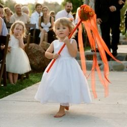 All the funkiest finds to ensure your flower girls are walking down the aisle in style {Image Credit - Tanja Lippert}
