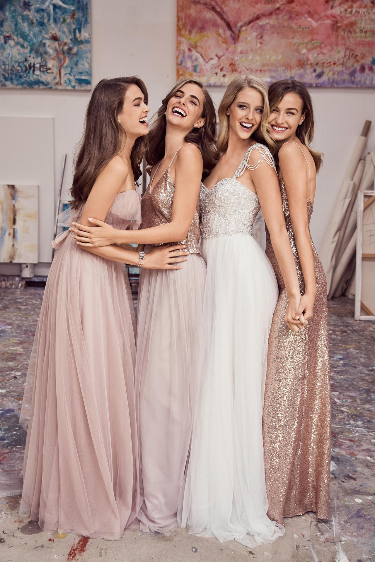Mismatched bridesmaid dresses online gallery braidsmaid dress brideside makes it easy to coordinate mismatched wedding parties shop the best bridesmaid dresses online from ombrellifo Gallery