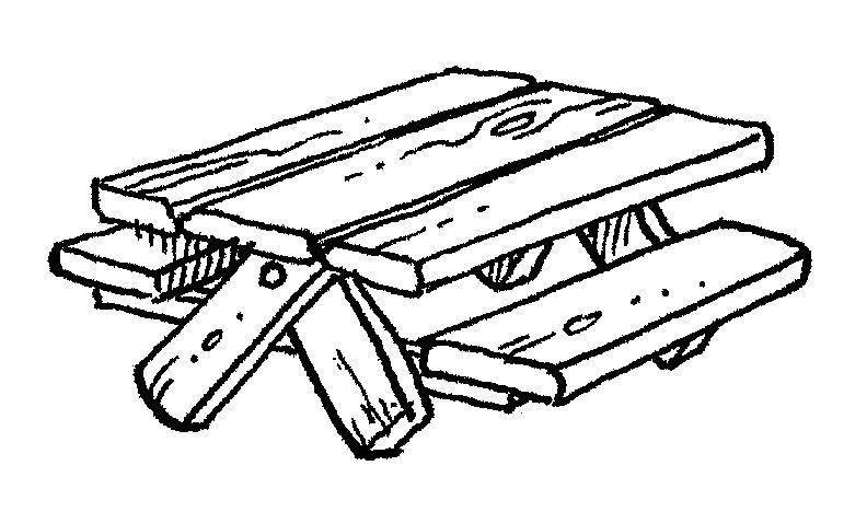 Picnictable Clip Art Picnic Table