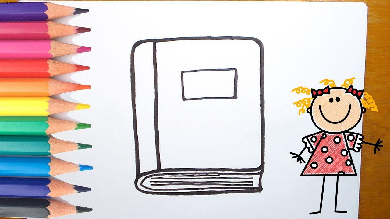 كيفية رسم كتاب تعليم رسم كتاب بطريقة سهلة Art