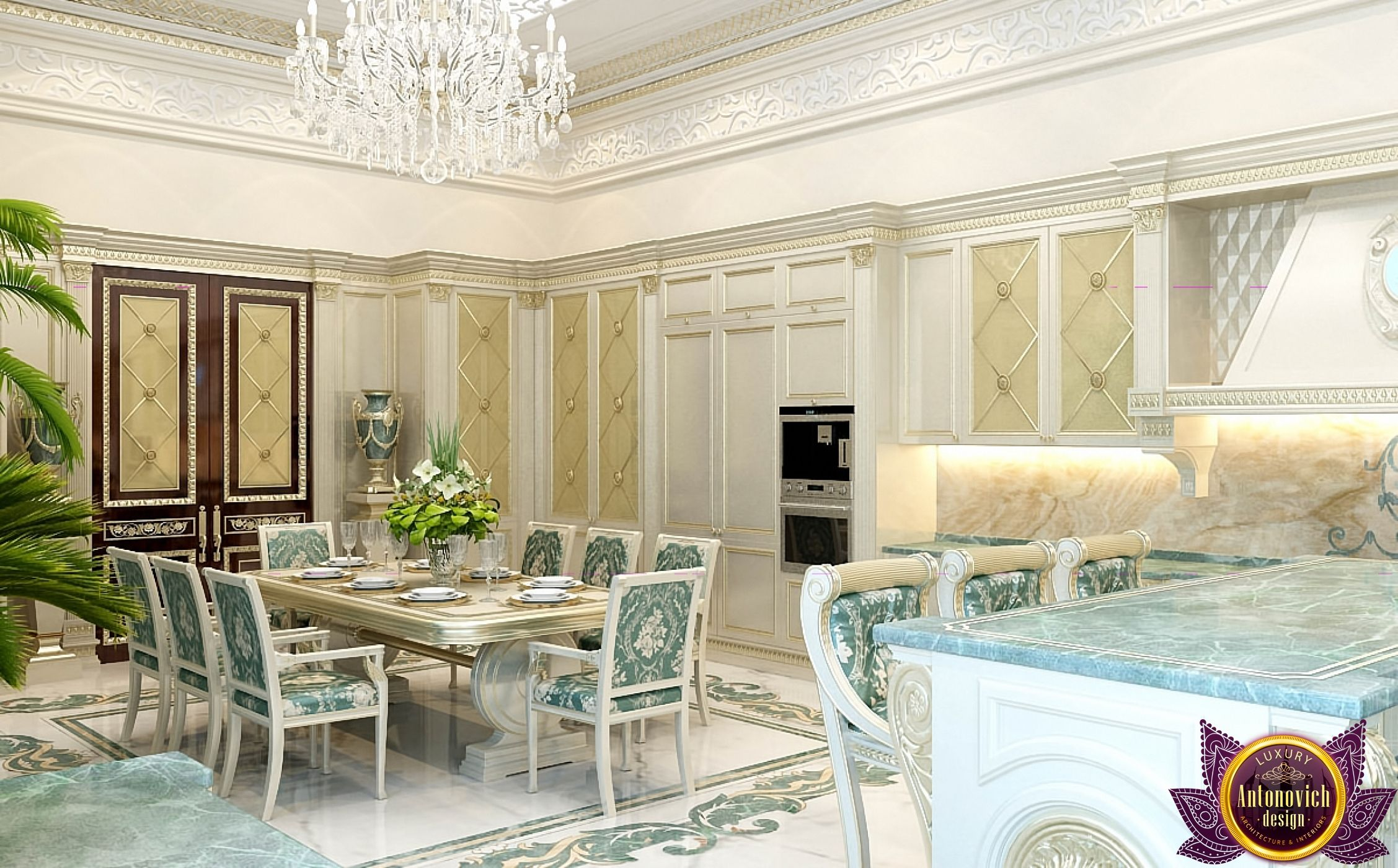 Bedroom And Kitchen Designs Kitchen Design In Dubai Luxury Kitchen Design Photo 6  Bedroom