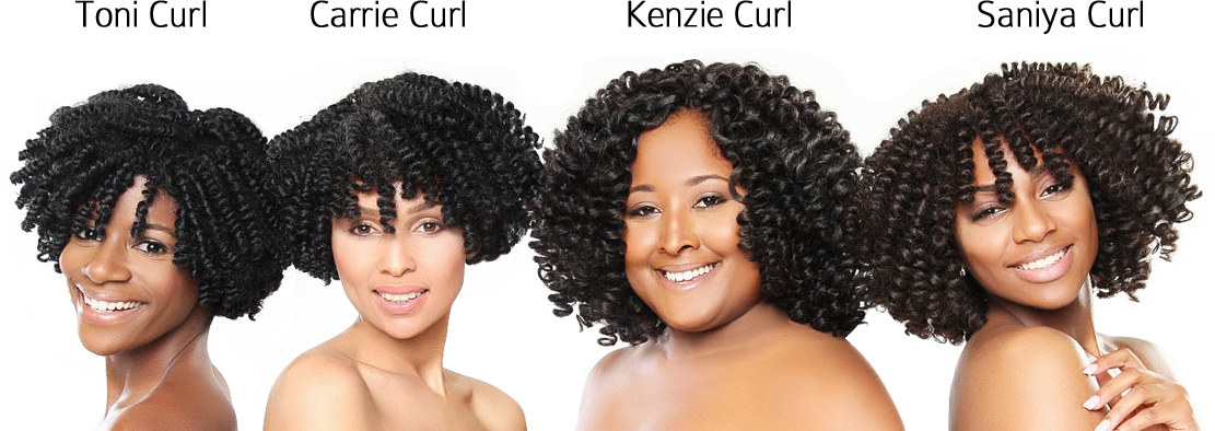 Pre Curled Textured Hair Curlkalon Collection