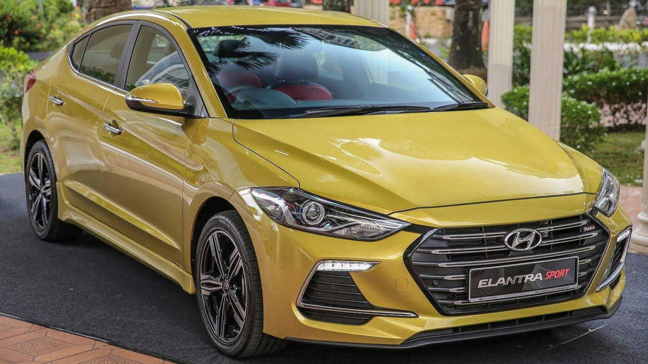 FIRST LOOK 2017 Hyundai Elantra Sport 204 PS, 1.6 turbo