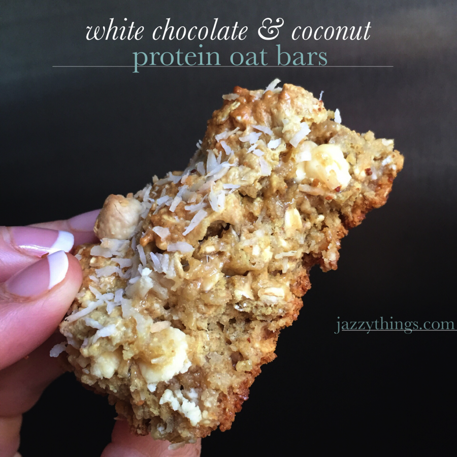 white coconut bars