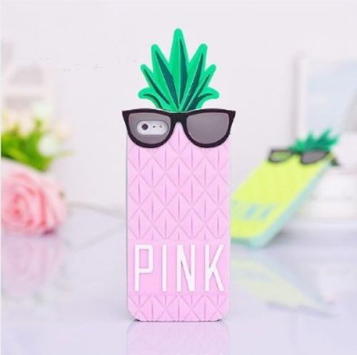 New Victoria's Secret Pineapple Silicone 3D Back Case Cover for ...
