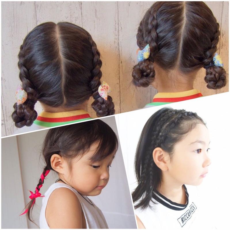 運動会の髪型はどうする いつもと違うアレンジで挑もう Mamagirl ママガール 運動会 髪型 幼児向けヘアスタイル 簡単ヘア