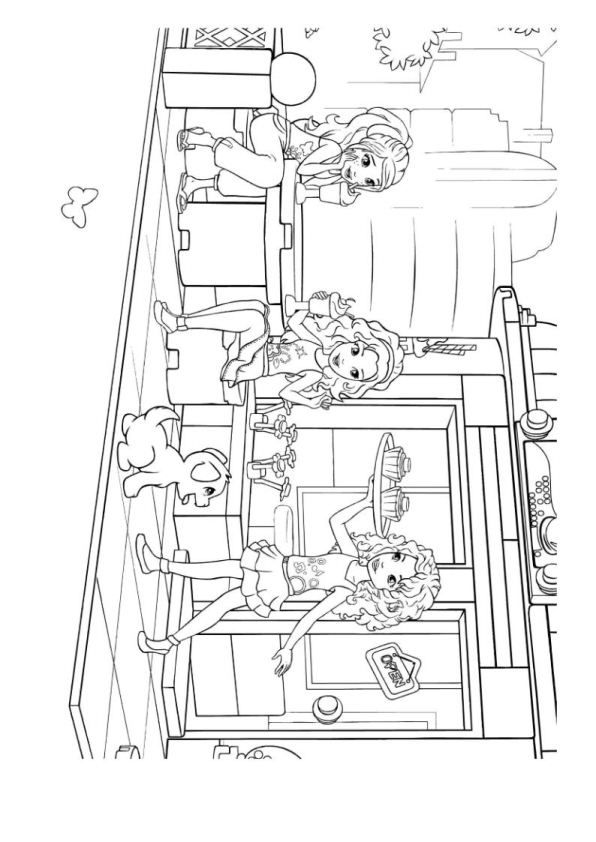 kleurplaat Lego Friends - Lego Friends Fun with Kids Pinterest - fresh lego and friends coloring pages