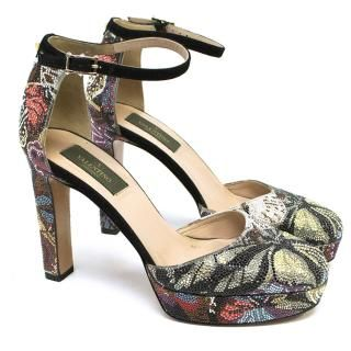 valentino  valentino  butterfly shoes butterfly heels