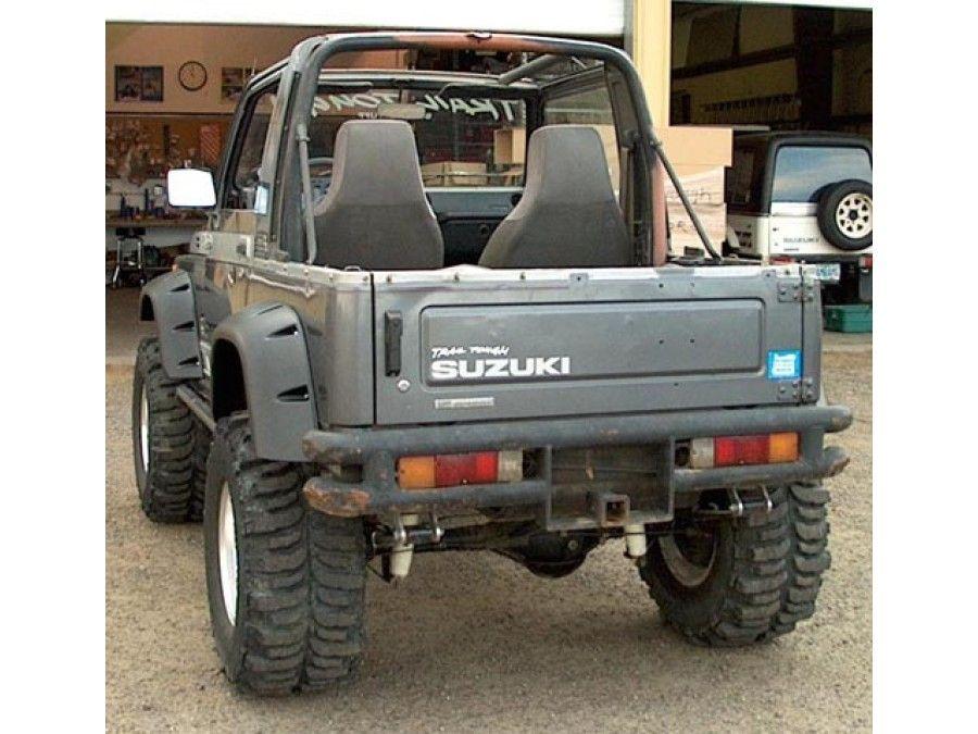 Samurai Bushwacker Extended Fender Flares Suzuki jimny