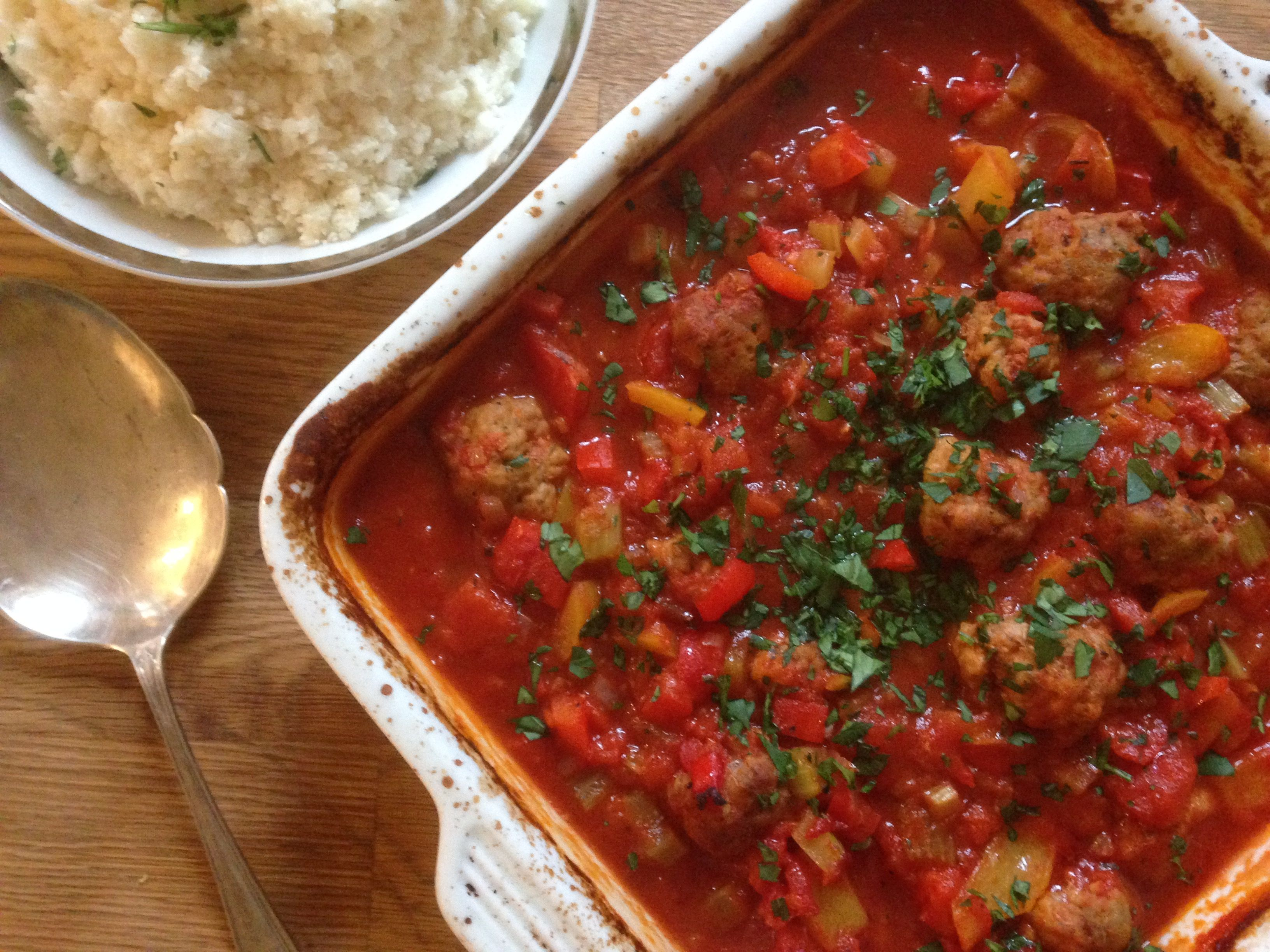 Turkey meatballs with Creole sauce | Slimming world soup ...