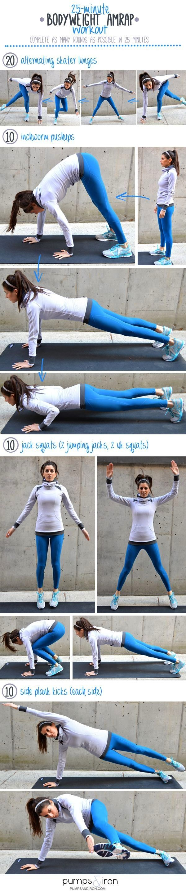 #bodyweight #transform #25minute #exercise #yourself #workout #fitness #anytime #healthy #health #ca...
