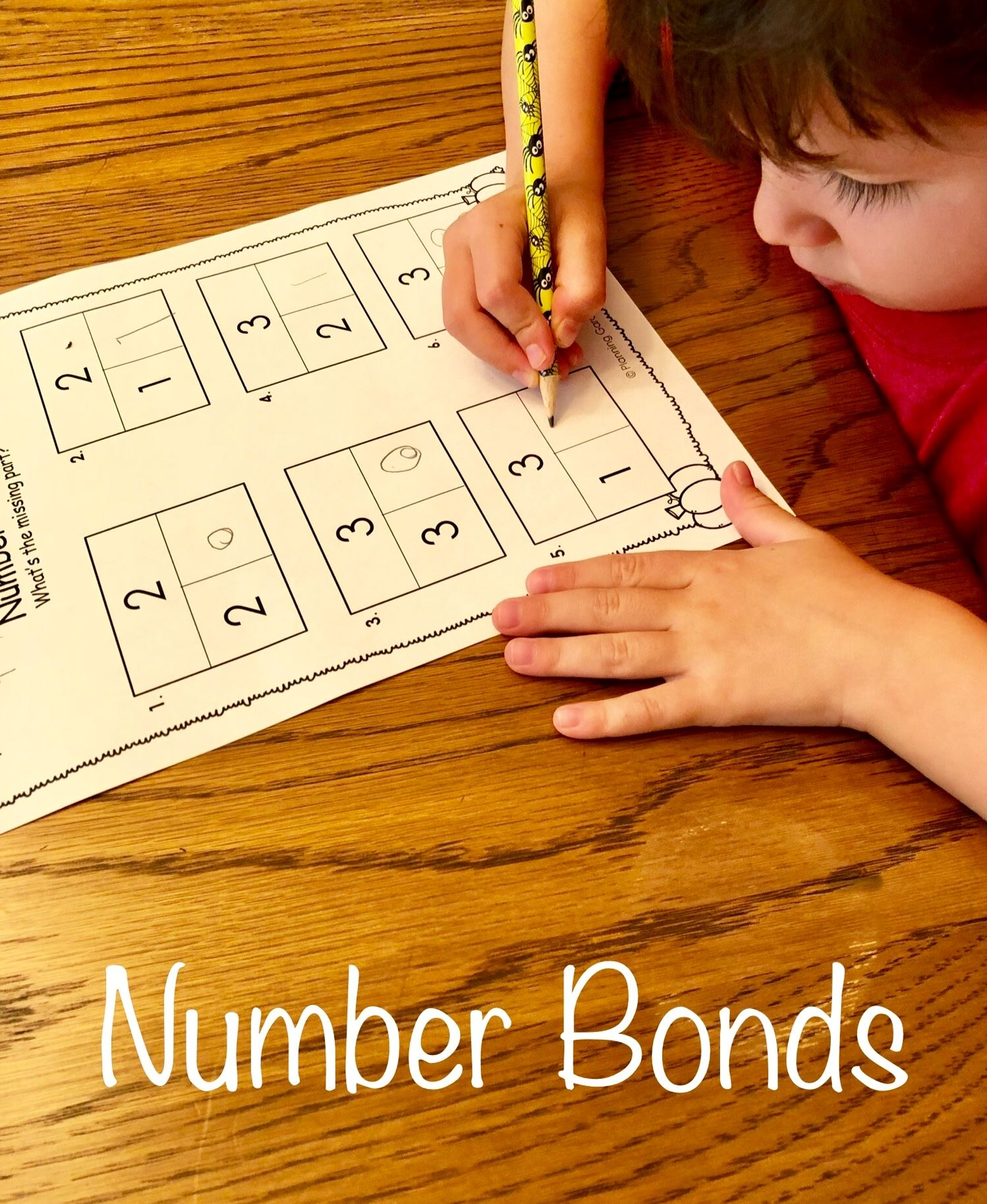 Number Bonds Singapore Math