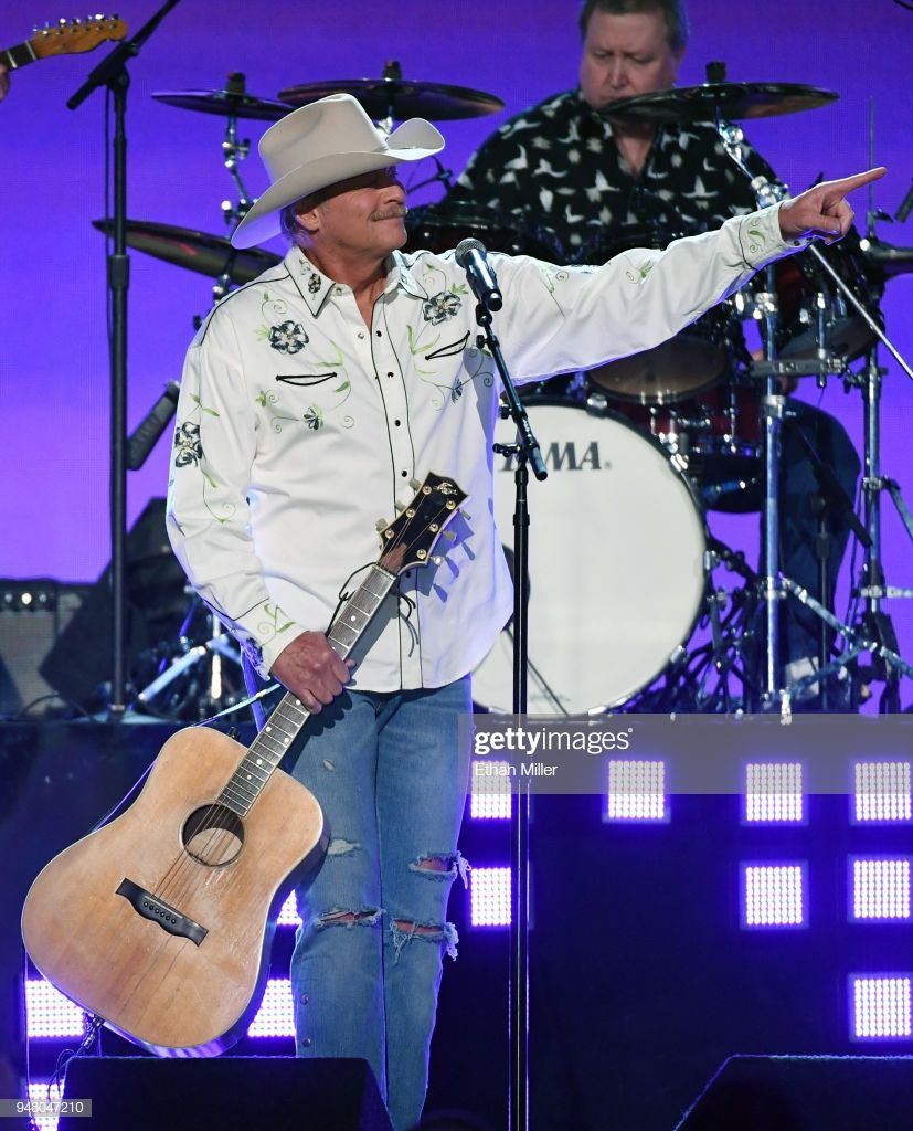 Alan Jackson Performs During The 53rd Academy Of Country Music