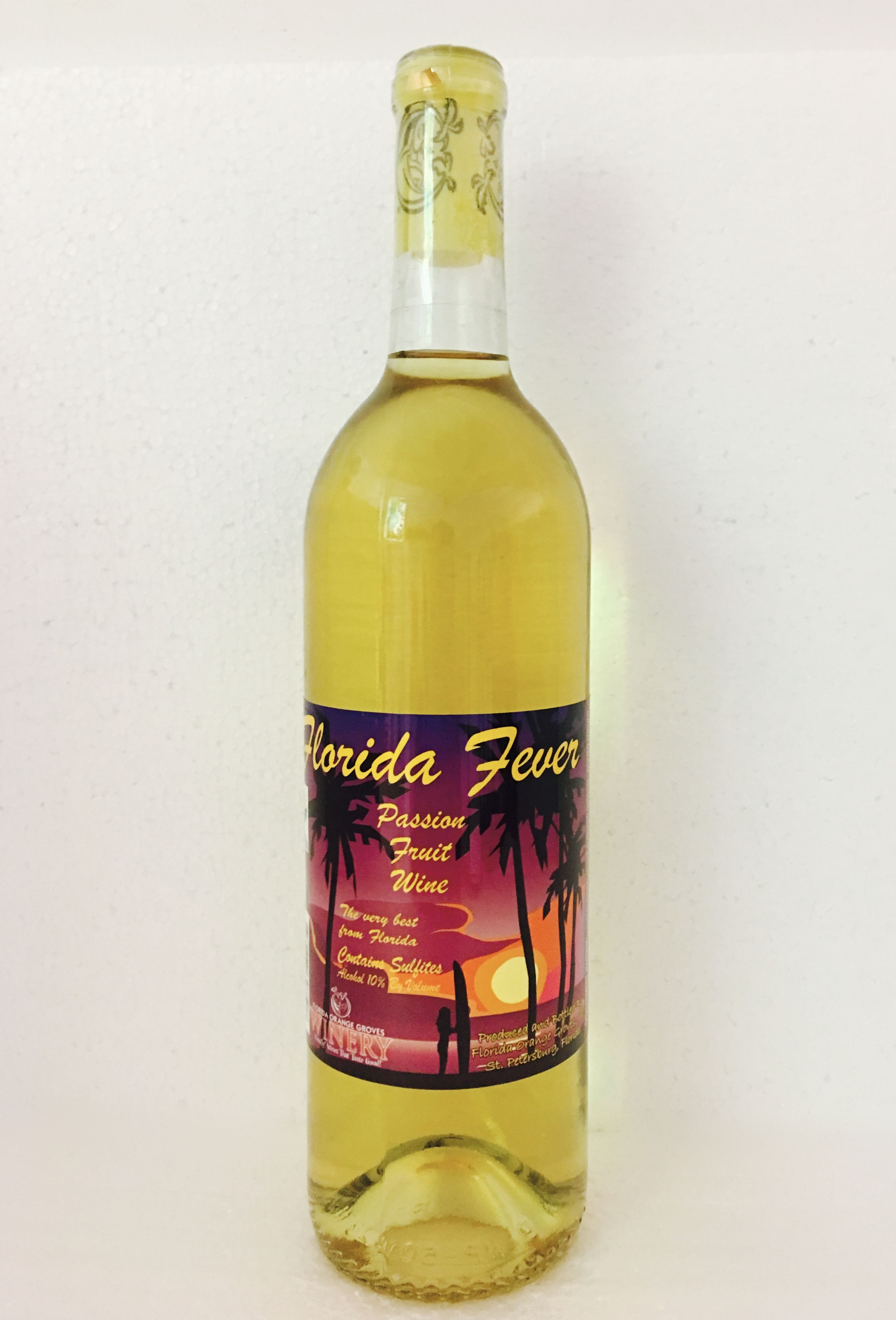 Passion Fruit Wine Florida Wine Made With 100 Real Fruit