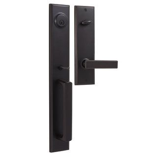 Weslock 06691 1 002d Oil Rubbed Bronze Woodward Ii Series Double Cylinder Handleset From The Elegance Collection Handlesets Com Oil Rubbed Bronze Single Cylinder Deadbolt Deadbolt