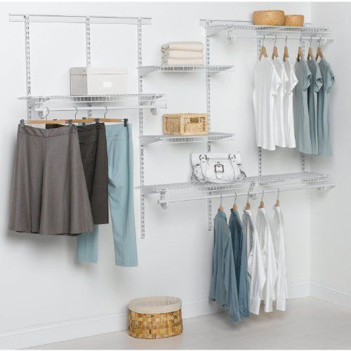 ClosetMaid Adjustable Wardrobe Organiser Kit 1.52m (5u0027) Up To 2.44m (8u0027)  Wide , Http://www.amazon.co.uk/dp/B00AIQ447G/refu003dcm_sw_r_pi_dp_SfAYqb16ZXAFC