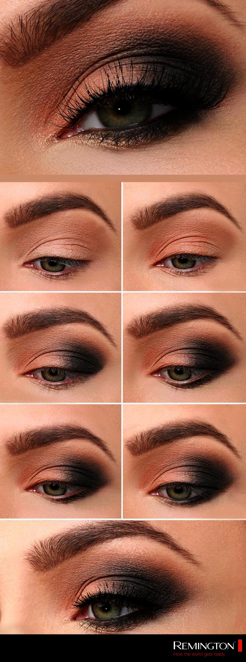 smokey eye makeup for hazel eyes smokey eye natural colors | smokey
